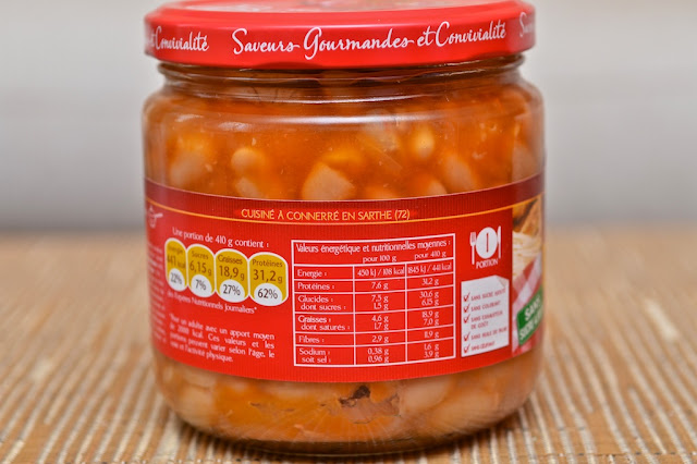 Cassoulet - Charles Christ - Cassoulet Pur porc - Plat préparé - Cuisine - Conserve - Cassoulet Français