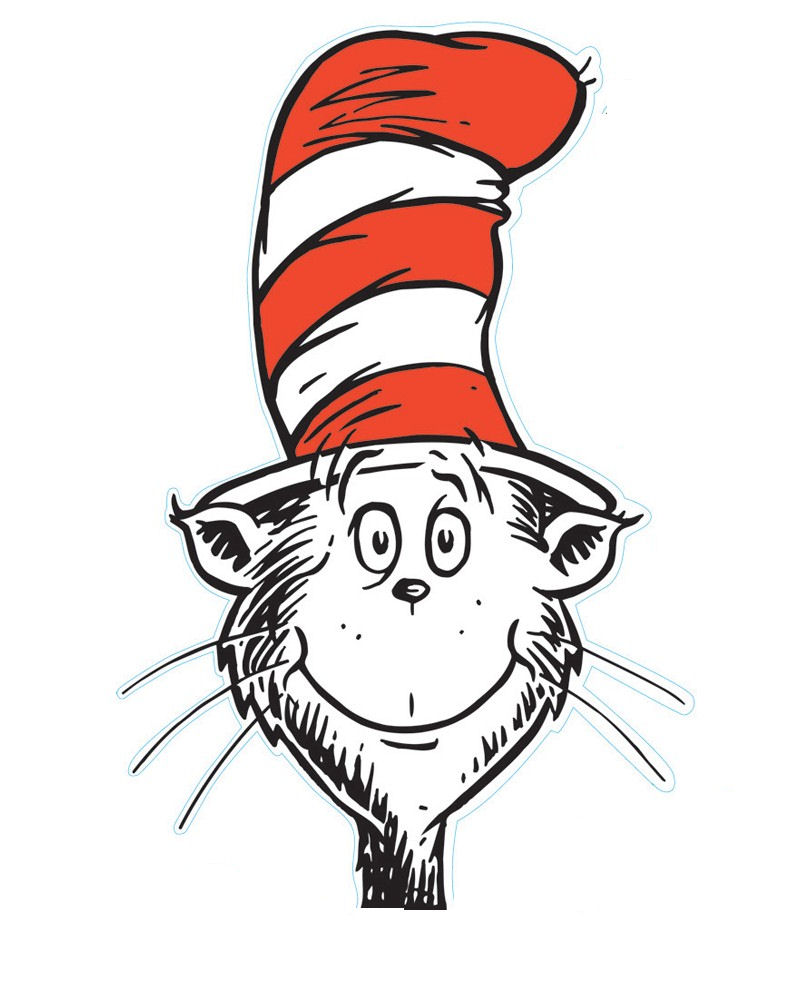 free clipart cat in the hat - photo #32