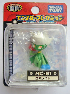Roserade Pokemon figure Tomy Monster Collection MC series