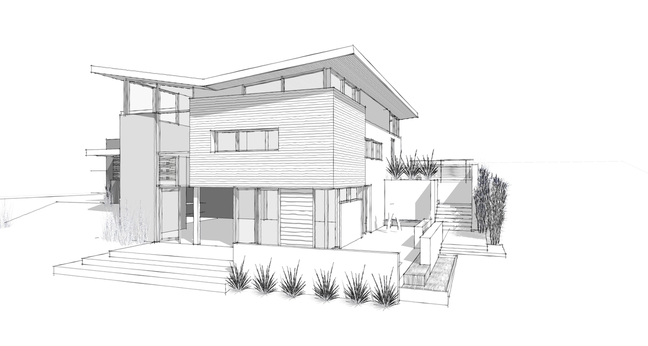 Line Drawing Of Your House : Home and decoration tips how to draw house designs