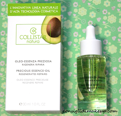 Review: Oleo-essenza Preziosa - Collistar Natura