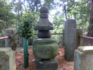 河津祐泰の墓(伊東市)