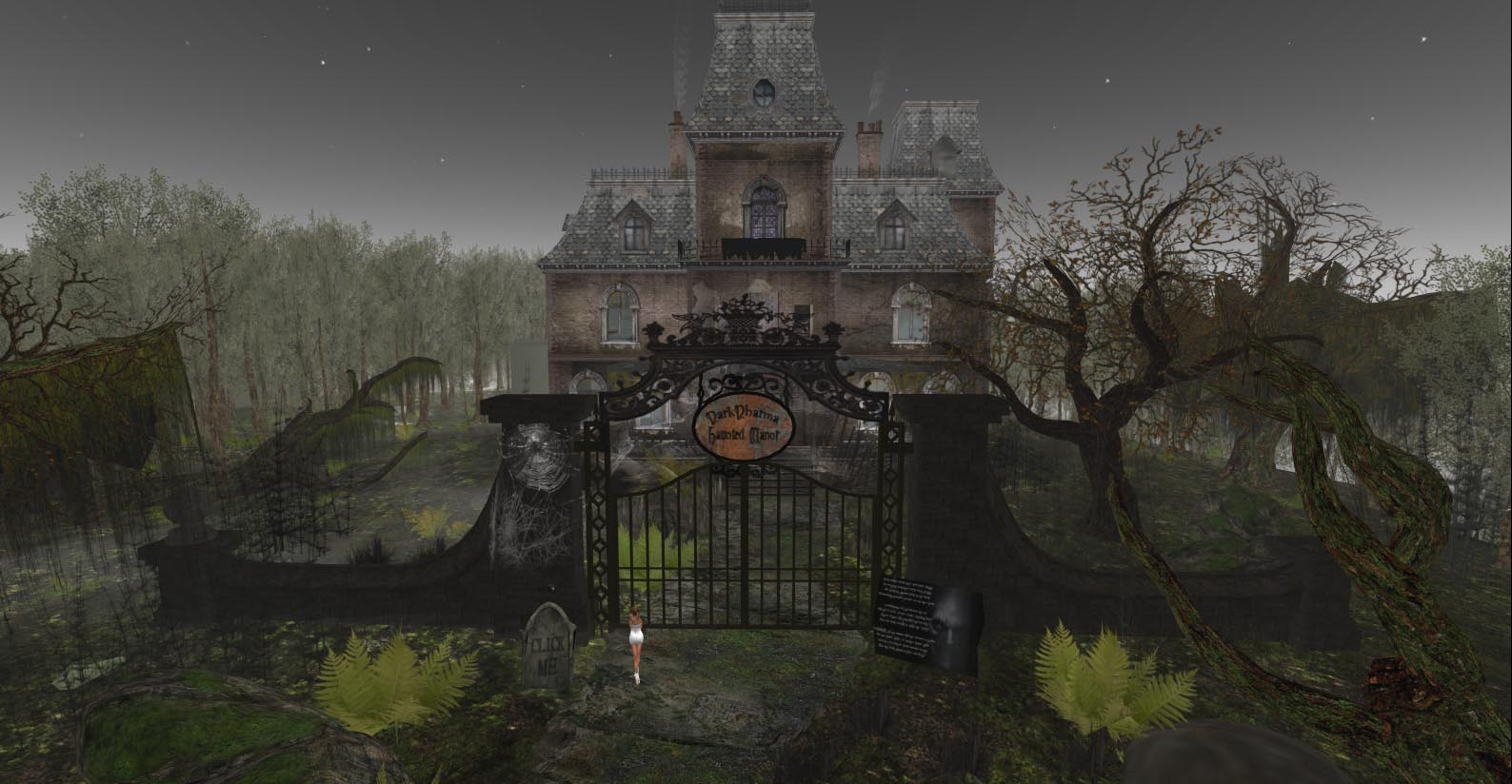 Sims 4 the haunting of goth manor - 5 7