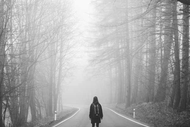 Source: https://pixabay.com/en/fog-mist-road-lost-girl-eerie-1208283/