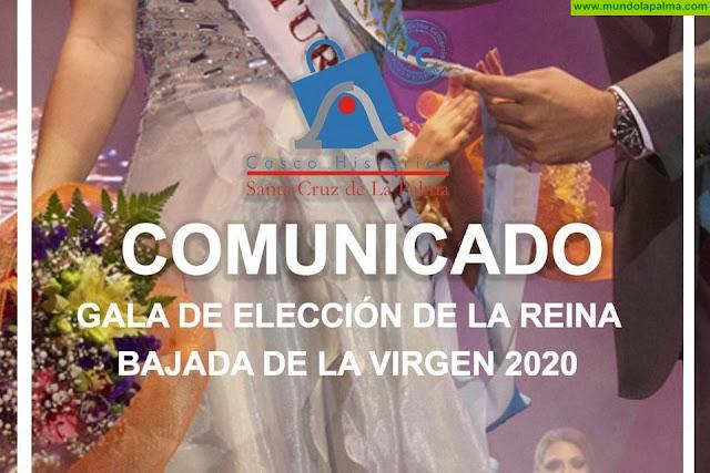 Casco Histórico de Santa Cruz de La Palma solicita la rectificación con motivo de la intención de eliminar las galas de elección de Reina de La Bajada