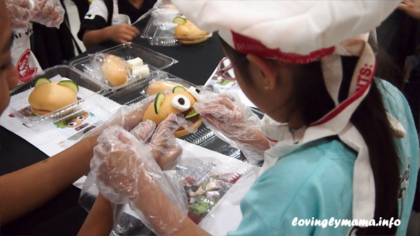 sandwich making activity, easy birthday party ideas for kids