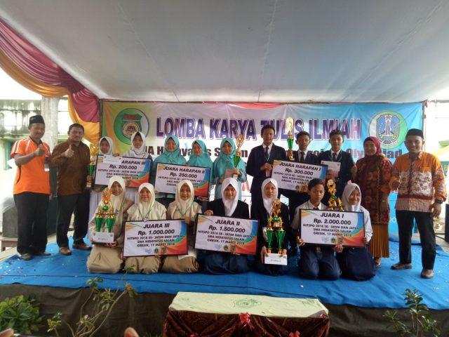 SMA Hidayatus Salam Gresik, Gelar Final Penelitian SMP se Jatim dan Jateng