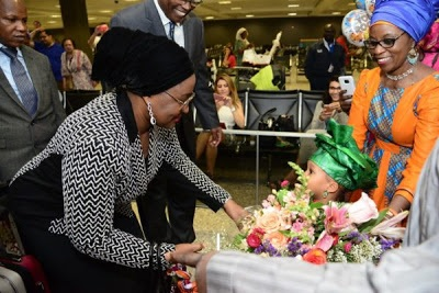 Fayose's aide reacts to Aisha Buhari's visit to United States