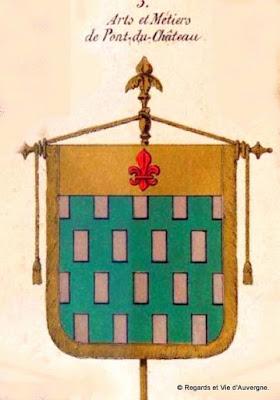 Bannière des Arts et Métiers d'Auvergne Pont du Château