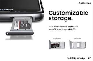 Samsung Galaxy S7 SPEICHERKARTE UND NANO-SIM