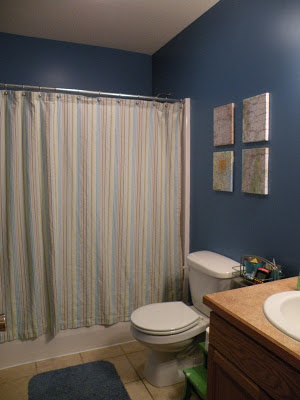 Niagara Blue bathroom