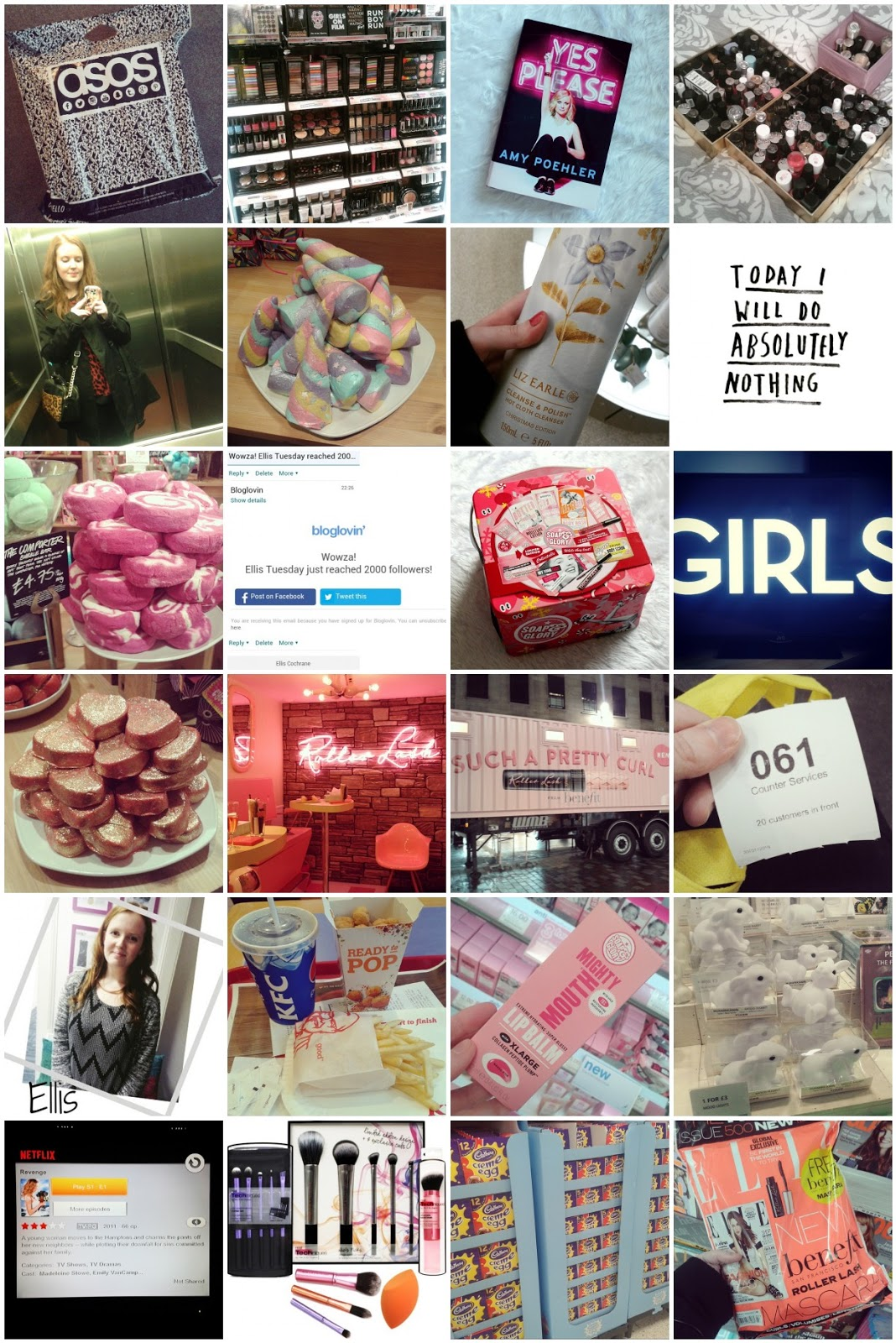 January 2015 Instagram