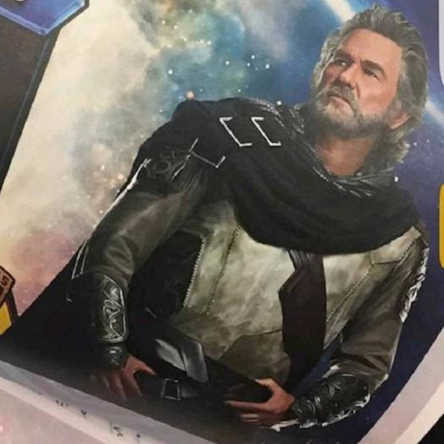 Kurt Russell como Ego en Guardians of the Galaxy 2