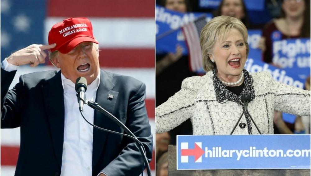 Trump: Clinton debe ir a prisión por el mal uso del correo electrónico institucional