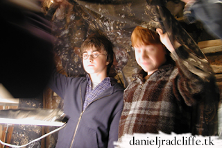 Harry Potter: Behind the scenes photo by Jason Isaacs