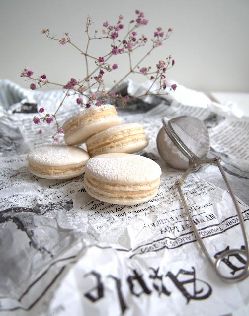 Joulukalenteri luukku 18. – Vanilja-kardemumma macarons