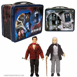 Tardis Anniversary science fiction Whovian time travel 8 inch lunchbox