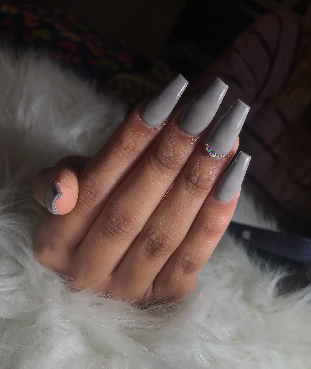24+ Gorgeous Ombre Acrylic Coffin Nails To Wear Vibrant ...