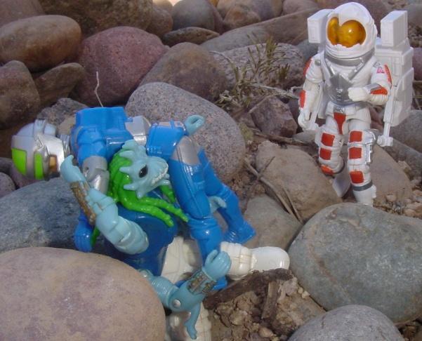 1994 Star Brigade Predacon, Lunartix Alien, 1987 Payload, Gears, Rare G.I. Joe Figures