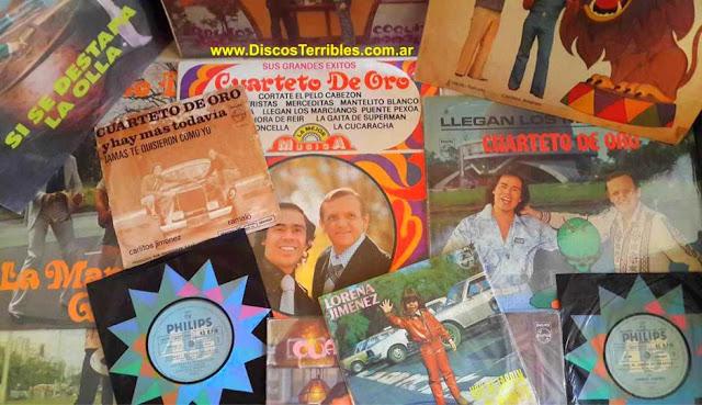 Cuarteto de Oro - Discografia / Discos Terribles