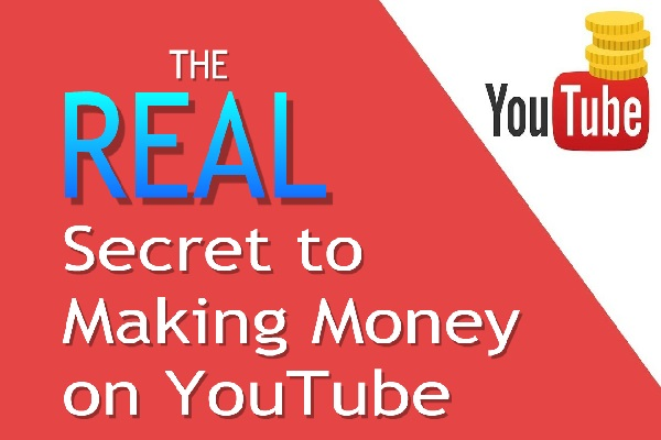 The REAL Secret to Making Money on YouTube