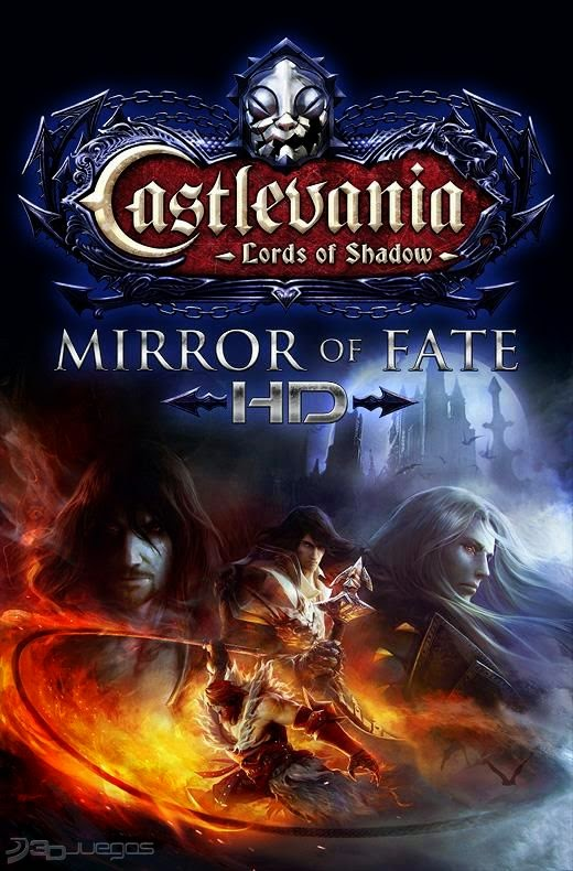 Cover Caratula Castlevania Lords Of Shadow Mirror Of Fate PC