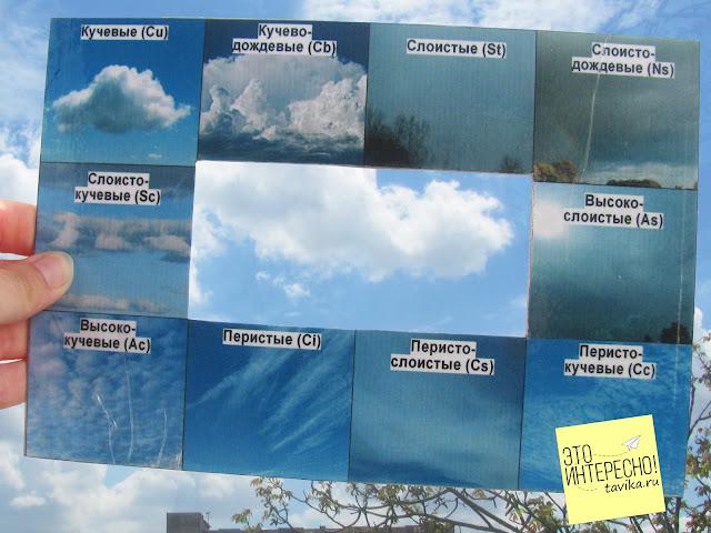 Рамка для изучения облаков - скачать