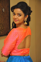 Nithya Shetty in Orange Choli at Kalamandir Foundation 7th anniversary Celebrations ~  Actress Galleries 066.JPG