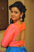 Nithya Shetty in Orange Choli at Kalamandir Foundation 7th anniversary Celebrations ~  Actress Galleries 066.JPG