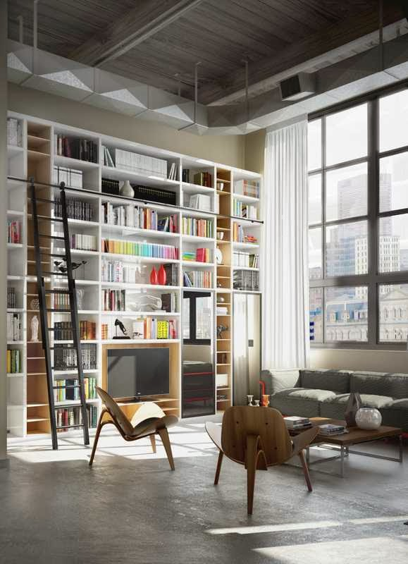 Brick Wall Studio Apartment Inspiration picture