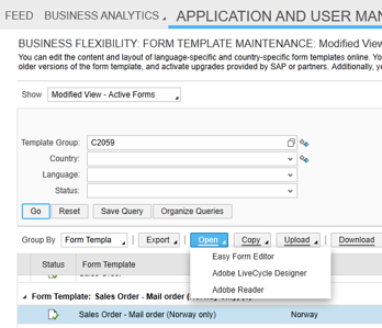 Attaching a Barcode to a Sales Order Form in Cloud for