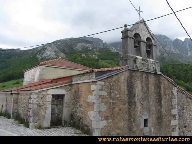 Ruta Tielve Peña Maín: Iglesia de San Pedro de Sotres