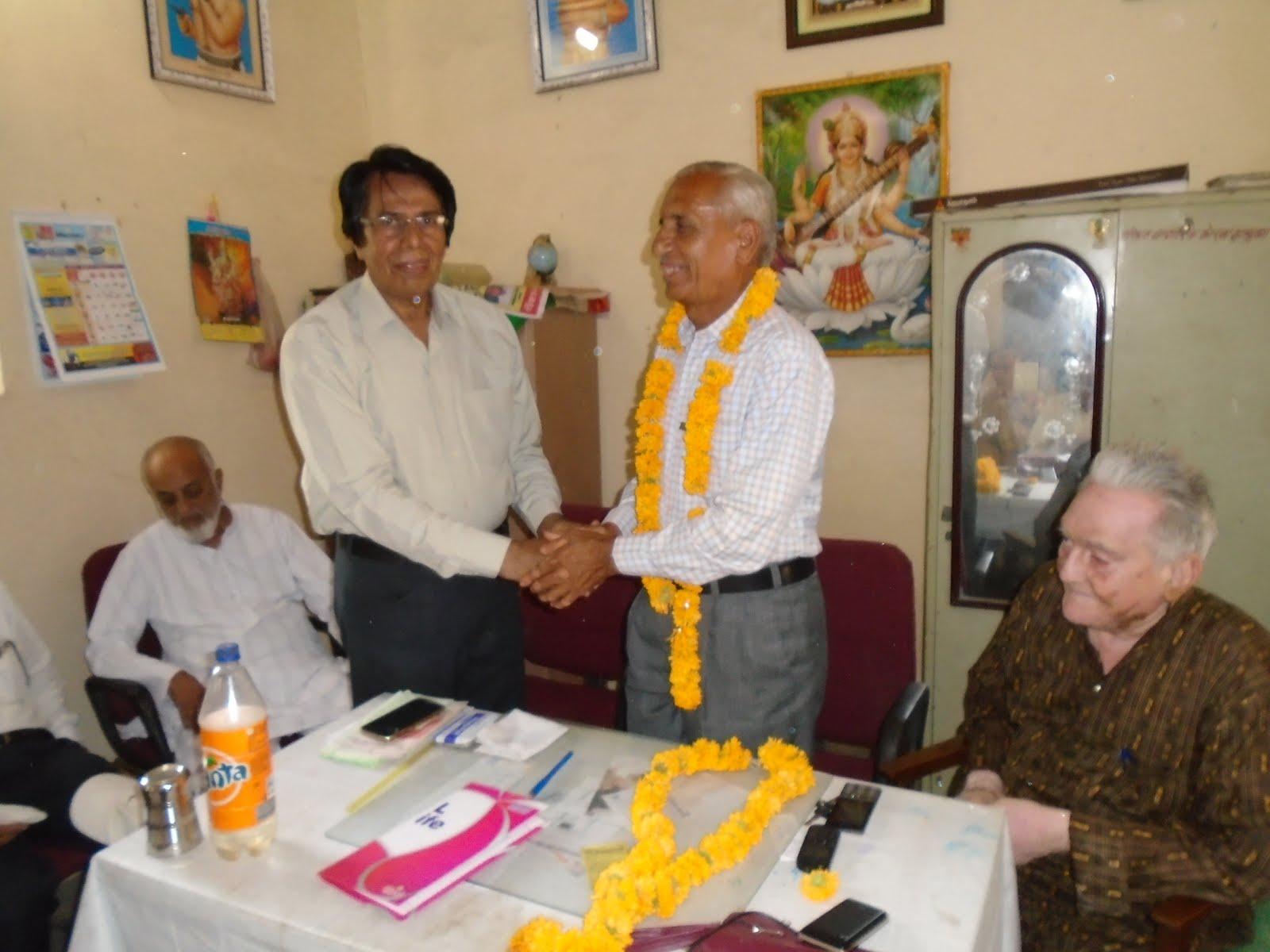 Ratan-Singh-Rathore-again-became-President-of-District-Pensioner-Association-रतनसिंह राठौर पुनः जिला पेंशनर संघ के अध्यक्ष बने