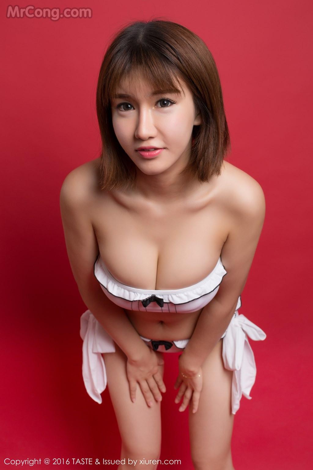Image MrCong.com-TASTE-Vol.029-Aojiao-Meng-Meng-K8-017 in post TASTE Vol.029: Người mẫu Aojiao Meng Meng (K8傲娇萌萌Vivian) (40 ảnh)