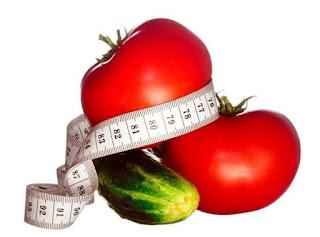 Похудеть на помидорах и огурцах за неделю