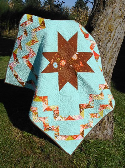 A Star is Born Baby Quilt Free Pattern