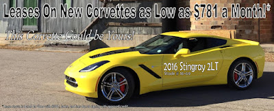 Lease a Corvette at Purifoy Chevrolet near Denver