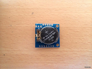 RTC module DS1307 top view