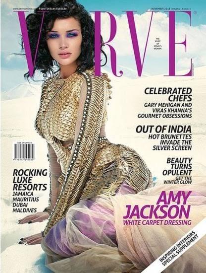 Amy Jackson in Verve Magazine Nov 2013