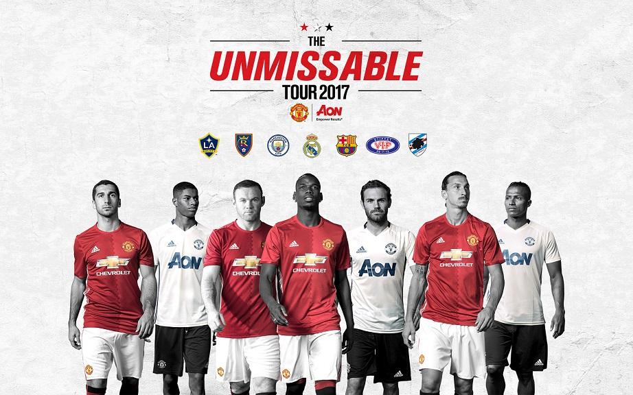 Jadwal Lengkap Tur Pra Musim Manchester United Musim 2017