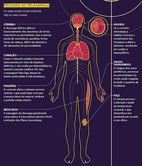 Os tipos de raio, como se proteger e o que acontece quando ele atinge alguém