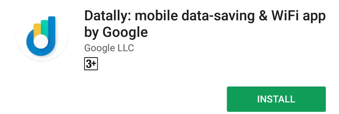 Download Google's Datally From Google Play Store