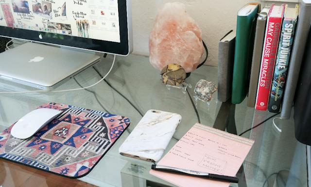 bright minimalist workspace