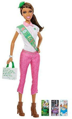 Barbie Loves Girl Scouts African American doll.