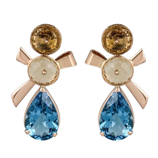 Regal Topaz Earrings by Velvetcase.com