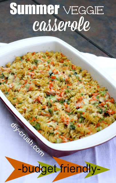 summer veggie casserole recipe