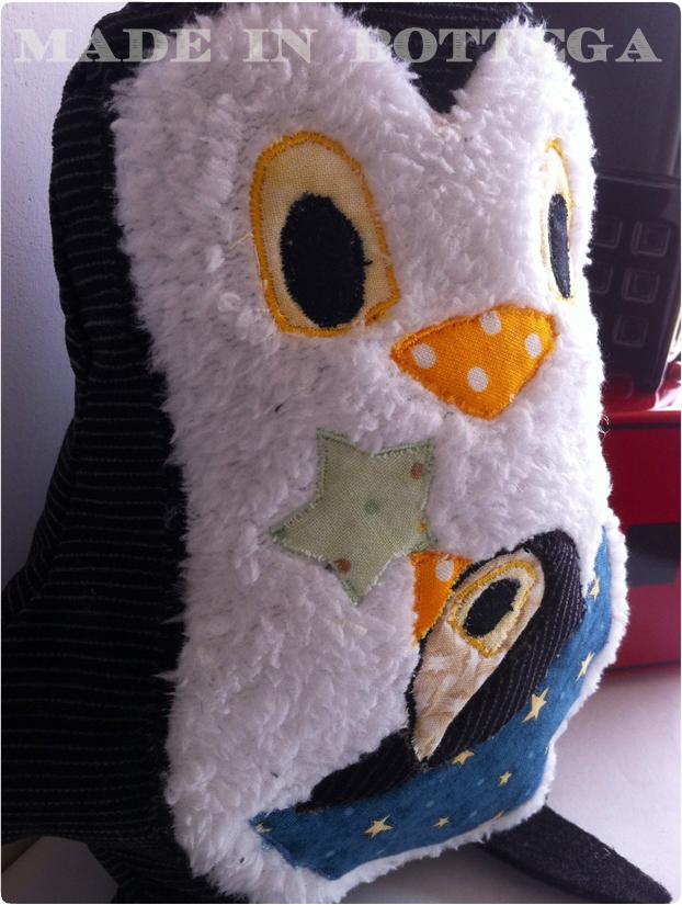pupazzo pinguino