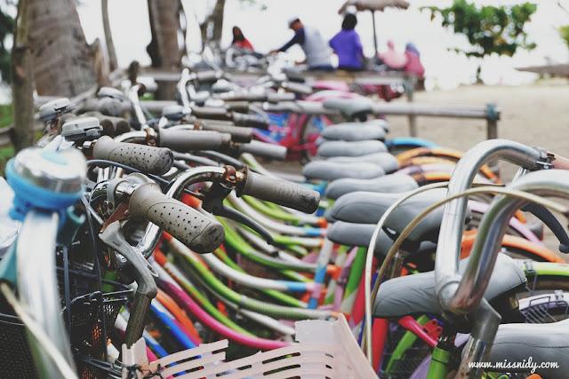 harga sewa sepeda di pulau tidung