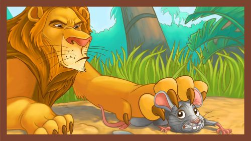 Fabel Bahasa Inggris Anak The Lion and The Mouse