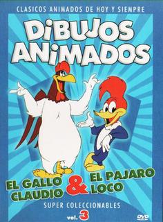 Dibujos animados [El Gallo Claudio y El Pajaro Loco] DVDR Menu Full Español Latino NTSC